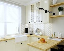 Warszawa mieszkanie 66 m2 na Grochowie - Kuchnia, styl rustykalny - zdjęcie od DESIGNYOURHOME - Homebook