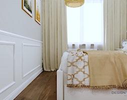Warszawa mieszkanie 66 m2 na Grochowie - Sypialnia, styl rustykalny - zdjęcie od DESIGNYOURHOME - Homebook