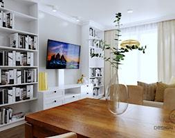 Warszawa mieszkanie 66 m2 na Grochowie - Salon, styl eklektyczny - zdjęcie od DESIGNYOURHOME - Homebook