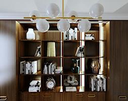 Mieszkanie dla dojrzałej pary w Siedlcach - Biuro, styl nowoczesny - zdjęcie od DESIGNYOURHOME - Homebook