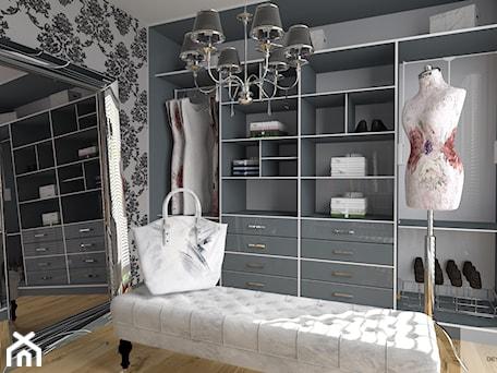 Aranżacje wnętrz - Garderoba: Garderoba w stylu Glamour - DESIGNYOURHOME. Przeglądaj, dodawaj i zapisuj najlepsze zdjęcia, pomysły i inspiracje designerskie. W bazie mamy już prawie milion fotografii!
