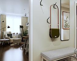 Warszawa mieszkanie 66 m2 na Grochowie - Hol / przedpokój, styl eklektyczny - zdjęcie od DESIGNYOURHOME - Homebook