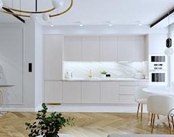Mieszkanie dla dojrzałej pary w Siedlcach - Kuchnia, styl glamour - zdjęcie od DESIGNYOURHOME - Homebook