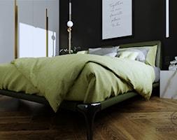 Mieszkanie dla dojrzałej pary w Siedlcach - Sypialnia, styl nowoczesny - zdjęcie od DESIGNYOURHOME - Homebook
