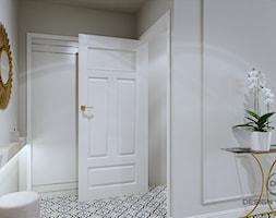 Mieszkanie dla dojrzałej pary w Siedlcach - Hol / przedpokój, styl art deco - zdjęcie od DESIGNYOURHOME - Homebook