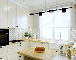 Warszawa mieszkanie 66 m2 na Grochowie - Kuchnia, styl klasyczny - zdjęcie od DESIGNYOURHOME - Homebook
