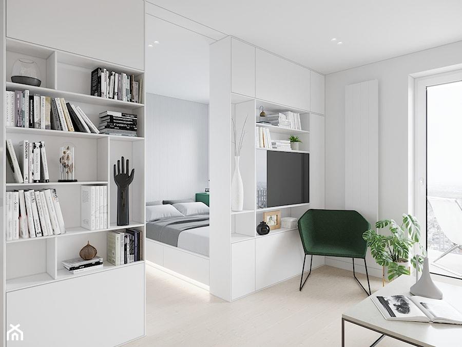 GDAŃSK 28m2 - Salon, styl minimalistyczny - zdjęcie od JD Architects