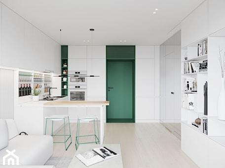 Aranżacje wnętrz - Kuchnia: GDAŃSK 28m2 - Kuchnia, styl minimalistyczny - JD Architects. Przeglądaj, dodawaj i zapisuj najlepsze zdjęcia, pomysły i inspiracje designerskie. W bazie mamy już prawie milion fotografii!