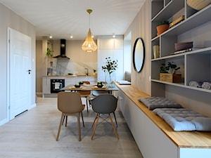 Dwupiętrowe mieszkanie urban scandi
