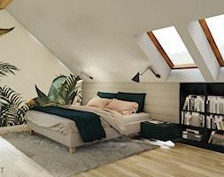 Sypialnia na poddaszu - zdjęcie od ACKProjekt