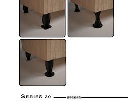 Nóżki meblowe serii 30 - Zagdan Design Studio - zdjęcie od Zagdan Design Studio - Homebook
