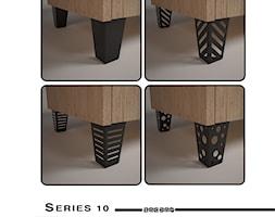 Nóżki meblowe serii 10 - Zagdan Design Studio - zdjęcie od Zagdan Design Studio - Homebook