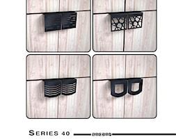 Uchwyty krawędziowe Serii 40 - zdjęcie od Zagdan Design Studio - Homebook