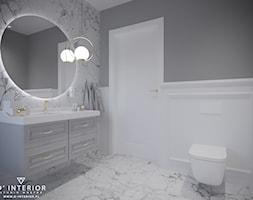 Projekt łazienki w Warszawie - zdjęcie od D ' INTERIOR. Studio Wnętrz - Homebook