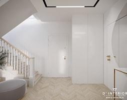 Projekt holu z jodełką - zdjęcie od D ' INTERIOR. Studio Wnętrz - Homebook