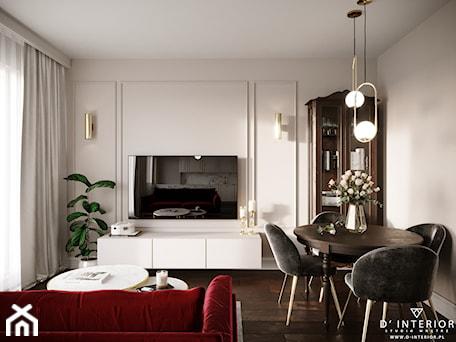 Aranżacje wnętrz - Salon: Modern In Classic - Salon, styl klasyczny - D ' INTERIOR. Studio Wnętrz. Przeglądaj, dodawaj i zapisuj najlepsze zdjęcia, pomysły i inspiracje designerskie. W bazie mamy już prawie milion fotografii!