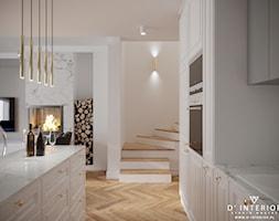 Projekt kuchni w Warszawie - zdjęcie od D ' INTERIOR. Studio Wnętrz - Homebook