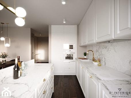 Aranżacje wnętrz - Kuchnia: Modern In Classic - Kuchnia, styl nowoczesny - D ' INTERIOR. Studio Wnętrz. Przeglądaj, dodawaj i zapisuj najlepsze zdjęcia, pomysły i inspiracje designerskie. W bazie mamy już prawie milion fotografii!