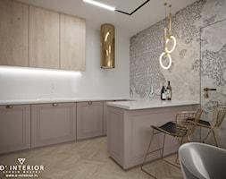 Projekt aneksu kuchennego we Wrocławiu - zdjęcie od D ' INTERIOR. Studio Wnętrz - Homebook