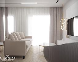 Projekt salonu - zdjęcie od D ' INTERIOR. Studio Wnętrz - Homebook