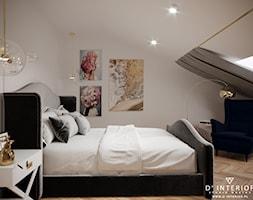 Projekt sypialni w stylu modern classic - zdjęcie od D ' INTERIOR. Studio Wnętrz - Homebook