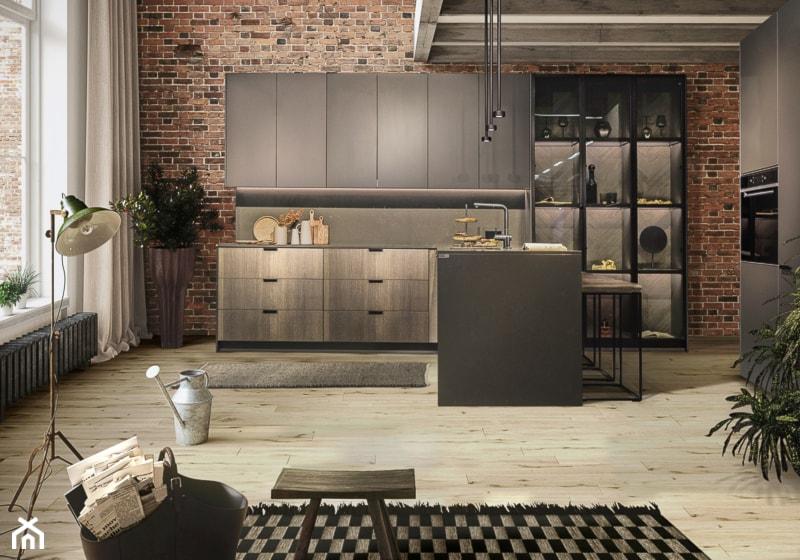 kuchnia CHOCOLATE AND BROWN z kolekcji UNIQUE marki ernestrust - zdjęcie od ernestrust