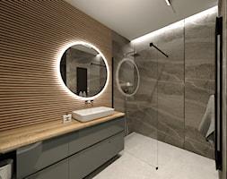Projekt Kamień - Łazienka, styl minimalistyczny - zdjęcie od Wabud Sp z o.o. - Homebook