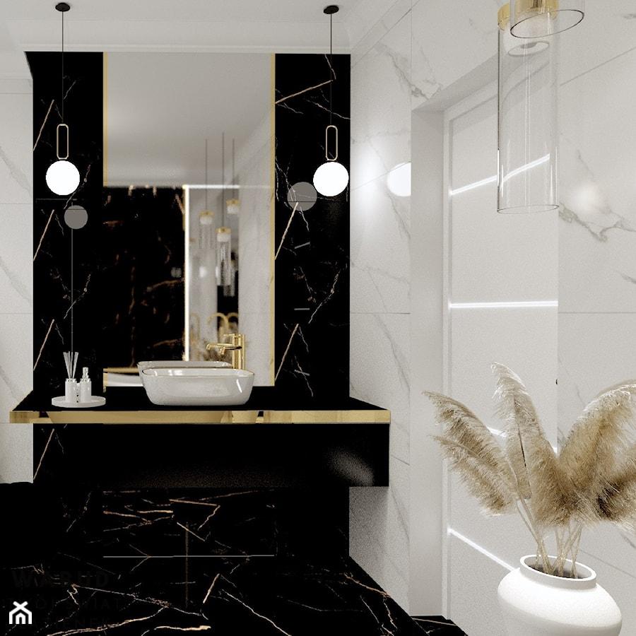 Projekt Hollywood - Łazienka, styl glamour - zdjęcie od Wabud Sp z o.o.