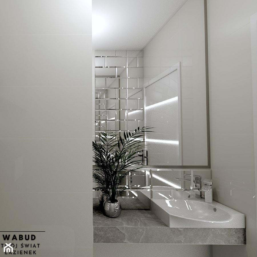 Projekt ubikacji - Łazienka, styl nowoczesny - zdjęcie od Wabud Sp z o.o.