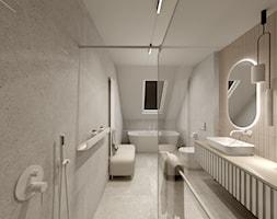 Projekt Cappucino - Łazienka, styl minimalistyczny - zdjęcie od Wabud Sp z o.o. - Homebook