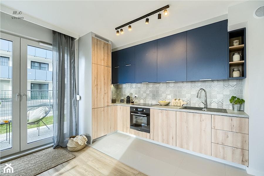 Mieszkanie, Gdańsk, Osowa 2 - Kuchnia, styl skandynawski - zdjęcie od m2o studio