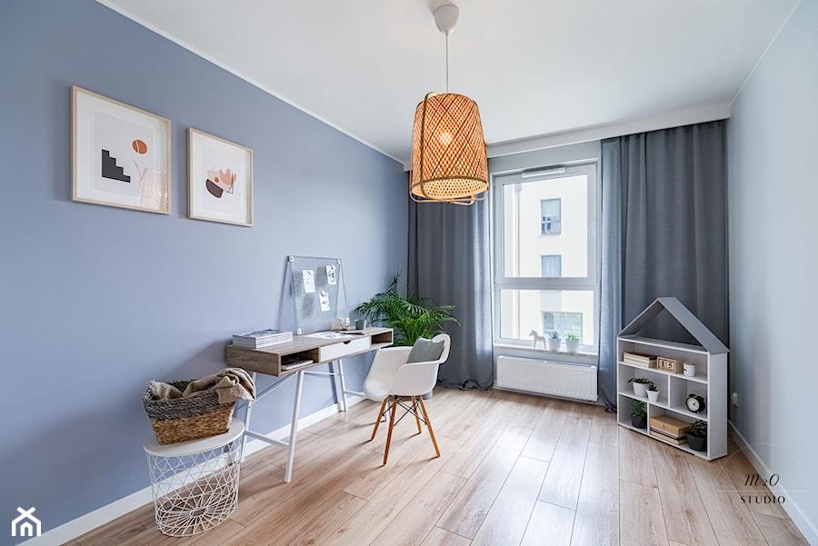 Mieszkanie, Gdańsk, Osowa - Pokój dziecka, styl skandynawski - zdjęcie od m2o studio