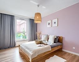 Mieszkanie, Gdańsk, Osowa - Sypialnia, styl skandynawski - zdjęcie od m2o studio - Homebook