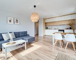 Mieszkanie, Gdańsk, Osowa - Salon, styl skandynawski - zdjęcie od m2o studio - Homebook