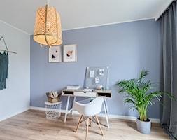 Mieszkanie, Gdańsk, Osowa - Biuro, styl skandynawski - zdjęcie od m2o studio - Homebook