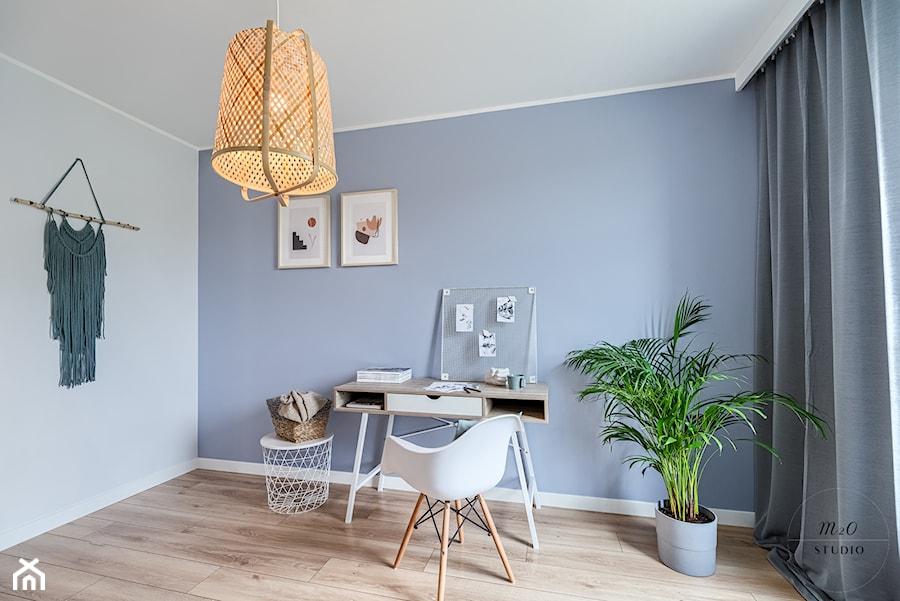 Mieszkanie, Gdańsk, Osowa - Biuro, styl skandynawski - zdjęcie od m2o studio