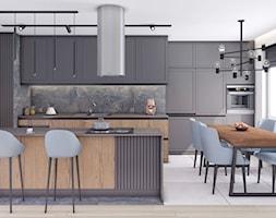 Mieszkanie, Gdańsk, Nowa Letnica - Kuchnia, styl nowoczesny - zdjęcie od m2o studio - Homebook