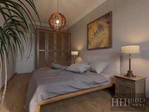 Mieszkanie 84 m2 dla 2+1 - Sypialnia, styl kolonialny - zdjęcie od Holi Home