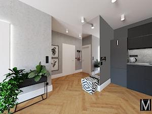 Industry apartment Świnoujście - Hol / przedpokój, styl industrialny - zdjęcie od MVision Studio Projektowe
