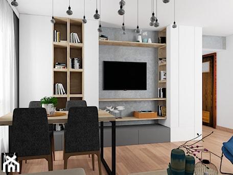 Aranżacje wnętrz - Salon: Projekt - MVision Studio Projektowe. Przeglądaj, dodawaj i zapisuj najlepsze zdjęcia, pomysły i inspiracje designerskie. W bazie mamy już prawie milion fotografii!