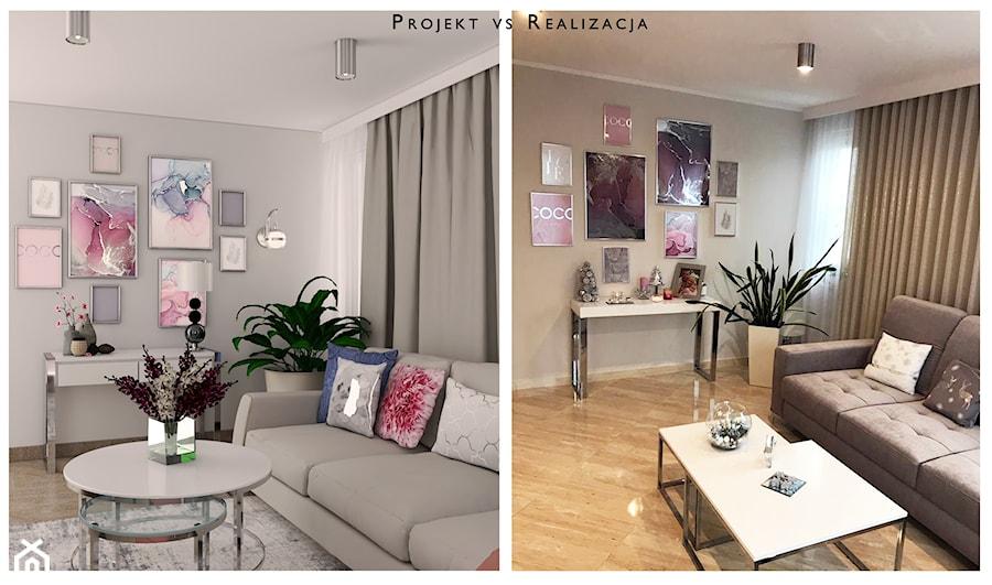Projekt vs. Realizacja - zdjęcie od MVision Studio Projektowe