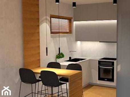 Aranżacje wnętrz - Kuchnia: Mieszkanie w Świnoujściu - Kuchnia, styl minimalistyczny - MVision Studio Projektowe. Przeglądaj, dodawaj i zapisuj najlepsze zdjęcia, pomysły i inspiracje designerskie. W bazie mamy już prawie milion fotografii!