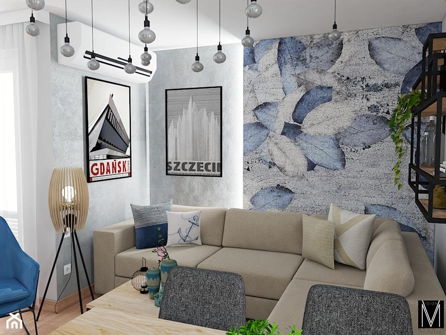 Gdańsk - salon - Salon, styl nowoczesny - zdjęcie od MVision Studio Projektowe