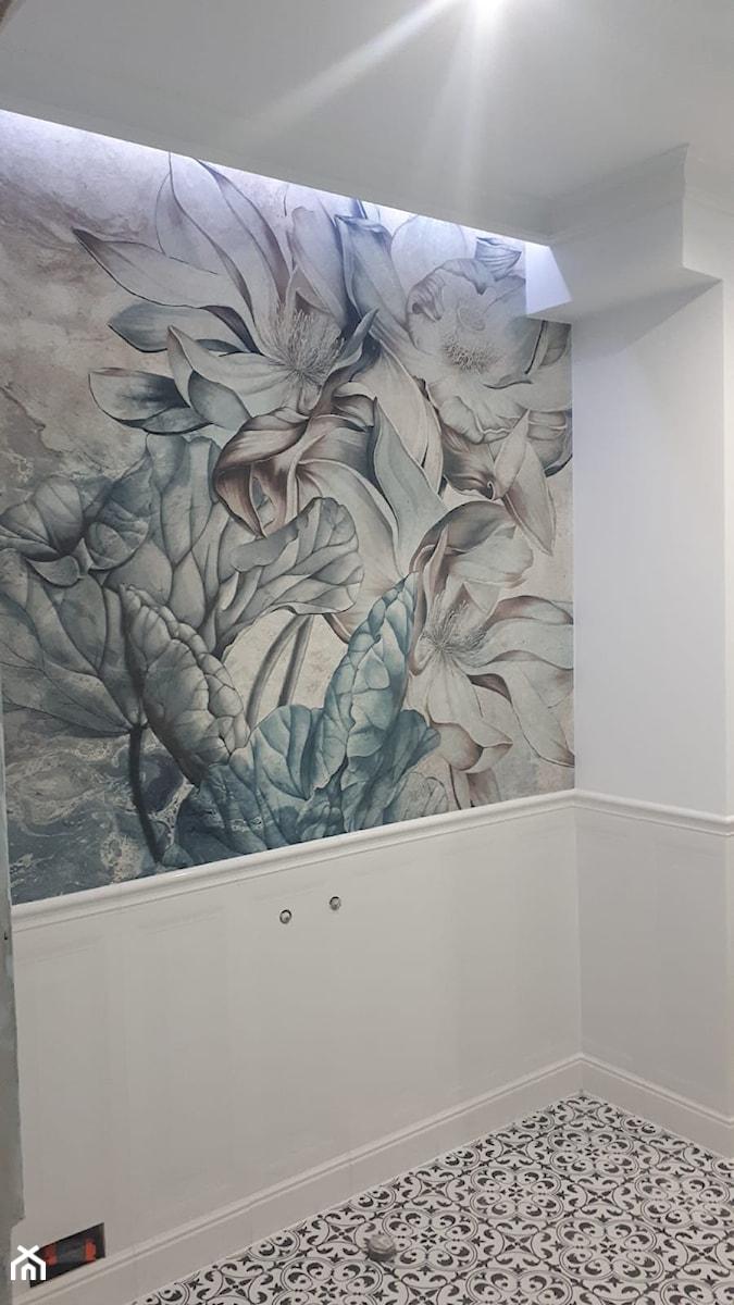 """""""Salonowa"""" łazienka - Świnoujście - Łazienka, styl nowojorski - zdjęcie od MVision Studio Projektowe"""
