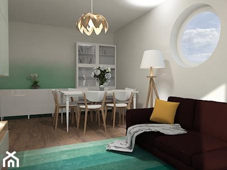Aranżacje wnętrz - Salon: Pokój dzienny i jadalnia - prokop_house. Przeglądaj, dodawaj i zapisuj najlepsze zdjęcia, pomysły i inspiracje designerskie. W bazie mamy już prawie milion fotografii!