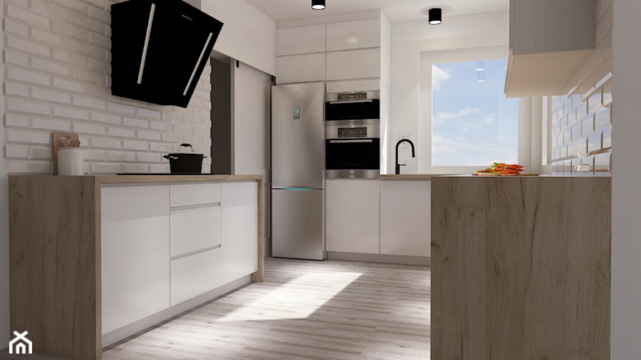 Kuchnia w domu - Kuchnia, styl nowoczesny - zdjęcie od prokop_house