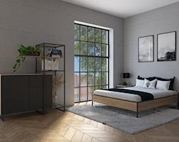 LOFT sypialnia - zdjęcie od prokop_house - Homebook