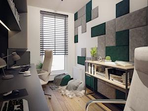 Aranżacja domowego biura - Łódź
