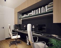 Aranżacja domowego biura - Łódź - zdjęcie od BOHE Architektura - Homebook