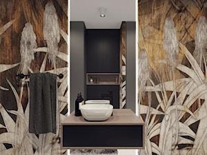 Projekt toalety w domu jednorodzinnym w Białymstoku